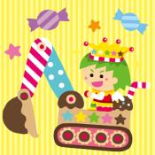 Androidアプリ「キャンディーショベルカー」のアイコン