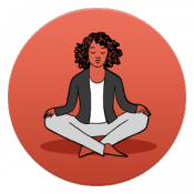 Androidアプリ「Stop Breathe & Think: Meditate」のアイコン
