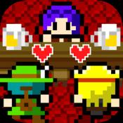 Androidアプリ「女主人「冒険者ってちょろいわね」 酒場経営シュミレーション」のアイコン