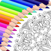 Androidアプリ「Colorfy: 大人のための塗り絵ゲーム - 無料曼荼羅アート」のアイコン