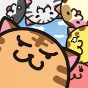 Androidアプリ「あみだねこ - まんまるネコたちの脳トレパズル」のアイコン