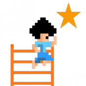 Androidアプリ「アクション 空中はしごジャンプ」のアイコン