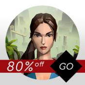 Androidアプリ「Lara Croft GO」のアイコン
