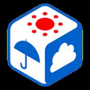 Androidアプリ「tenki.jp 現在地の天気・気温と雨雲がわかるアプリ。気象予報士の解説付き」のアイコン