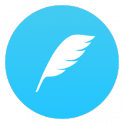 Androidアプリ「feather - 軽快なTwitterアプリ」のアイコン