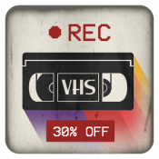 Androidアプリ「VHS Camera Recorder」のアイコン