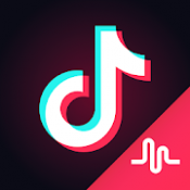 Androidアプリ「Tik Tok - including musical.ly」のアイコン