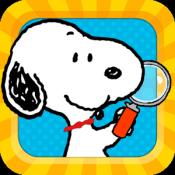 Androidアプリ「スヌーピー まちがい探し」のアイコン
