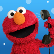 Androidアプリ「Elmo Calls by Sesame Street」のアイコン