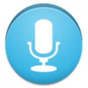 Androidアプリ「声で文字起こし(簡易ボイスレコーダー付き)・有料版」のアイコン