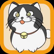 Androidアプリ「ぱずねこ 猫なぞり爽快パズル」のアイコン