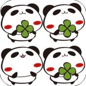 Androidアプリ「パンダのたぷたぷ間違いさがし」のアイコン