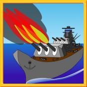 Androidアプリ「海戦ゲーム バトルシップ」のアイコン