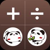 Androidアプリ「パンダのたぷたぷ電卓」のアイコン