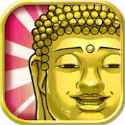 Androidアプリ「出家なう。~金色のおっさんと仏の秘め事~」のアイコン