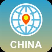 Androidアプリ「中国 地図オフライン」のアイコン