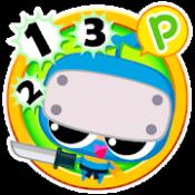 Androidアプリ「10までかぞえよう(幼児向け)」のアイコン
