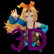 Androidアプリ「Unityちゃん Pose」のアイコン