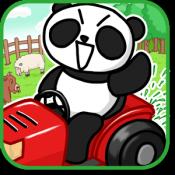 Androidアプリ「芝刈りパズル ~庭刈りぱんだ~ 【一筆書きパズル】」のアイコン