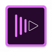 Androidアプリ「Adobe Premiere Clip」のアイコン