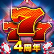 Androidアプリ「Huuugeカジノ™ ラスベガススロット、1000万人が遊ぶ本格的完全無料のオンラインカジノゲーム!」のアイコン