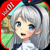 Androidアプリ「ポケットガールストーリー ~永久の中のひと時~ Vol.1」のアイコン