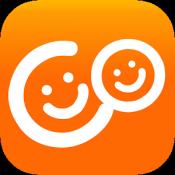 Androidアプリ「近所の出逢いはココノワ!無料id交換掲示板のgps出会アプリ」のアイコン