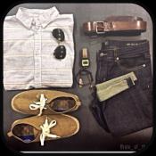 Androidアプリ「デイリーメンズファッション」のアイコン