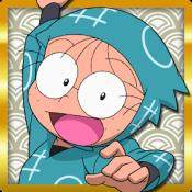 Androidアプリ「忍たま乱太郎 ふっとびパズル!の段」のアイコン