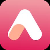 Androidアプリ「AirBrush-自撮りをで自然編集できるプロ級の編集アプリ」のアイコン