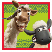 Androidアプリ「Shaun the Sheep - Llama League」のアイコン