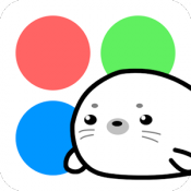 Androidアプリ「いろあざらし」のアイコン