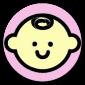 Androidアプリ「画数と良運 赤ちゃんの命名・名付け」のアイコン