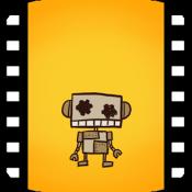 Androidアプリ「無料、育成強化アクション×ストーリーゲーム!飛べないロボは…」のアイコン