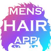 Androidアプリ「男の髪型シミュレーションアプリ - メンズヘア」のアイコン