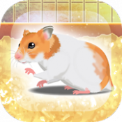 Androidアプリ「癒しのハムスター育成ゲーム」のアイコン
