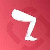 Androidアプリ「Runtastic Leg Trainer 筋トレ女子の下半身ダイエット&太もも引き締めアプリ」のアイコン