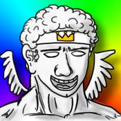 Androidアプリ「羽ばたけ!ぼっちイカロス」のアイコン