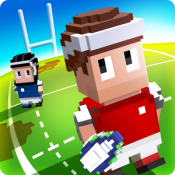 Androidアプリ「Blocky Rugby」のアイコン