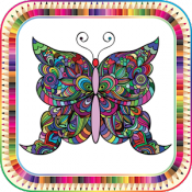 Androidアプリ「Colorify: Free Coloring Book」のアイコン