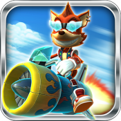 Androidアプリ「Rocket Racer」のアイコン