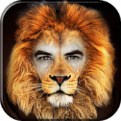 Androidアプリ「動物の顔フォトモンタージュ」のアイコン