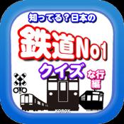 Androidアプリ「知ってる?日本の鉄道駅ナンバーワン「な行編」」のアイコン