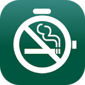 Androidアプリ「禁煙ウォッチ:禁煙時間が一目でわかる!禁煙アプリの決定版!」のアイコン