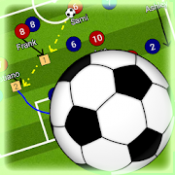 Androidアプリ「サッカー戦術ボード」のアイコン