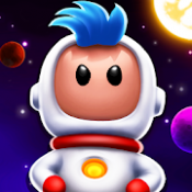 Androidアプリ「Space Chicks」のアイコン