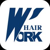 Androidアプリ「ヘアーワーク 増毛、育毛、かつら・ウィッグの専門店」のアイコン