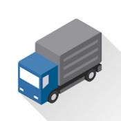 Androidアプリ「トラックカーナビ by ナビタイム 大型車,最新地図,渋滞,通行止め,ライブカメラ,降雪マップ」のアイコン