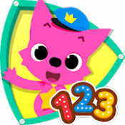 Androidアプリ「PINKFONG!123数字あそび」のアイコン
