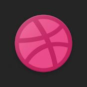 Androidアプリ「Dribbble」のアイコン